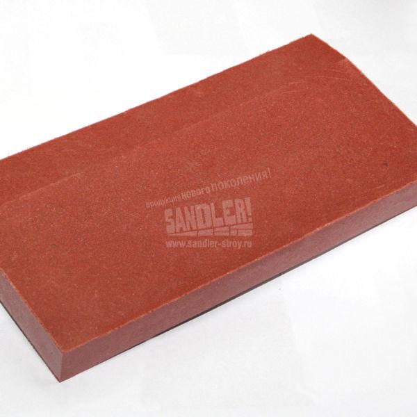 Бордюр полимерпесчаный цвет Красно-вишневый