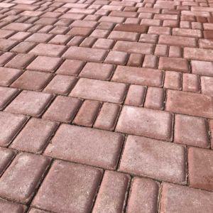 """Студия ландшафта Justplant.ru Плитка бетонная вибропрессованная """"Старый город"""" пр-во Сандлер (фотография от клиента)"""