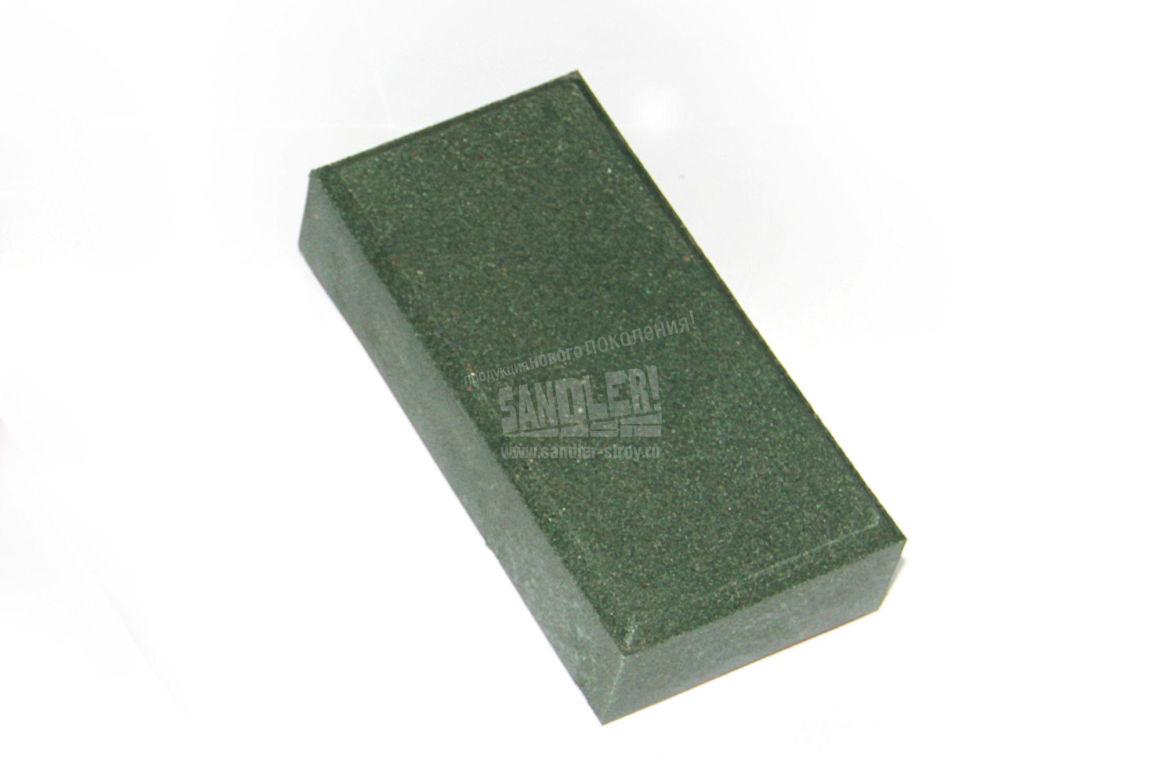 Брусчатка полимерпесчаная цвет Зеленый