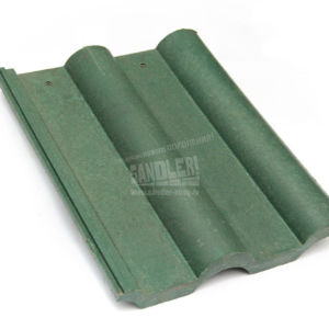 Черепица полимерпесчаная цвет Зеленый