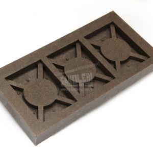 Бордюр полимерпесчаный обратная сторона
